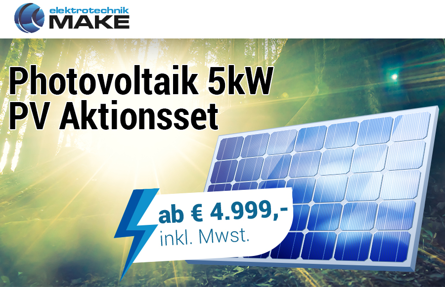 Elektrotechnik-Make | Photovoltaik Banner